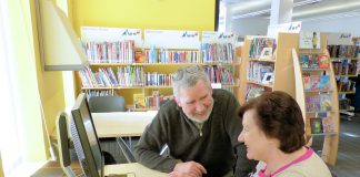 Staple Hill library - getting online