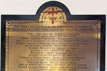 Pucklechurch - Memorial Shields