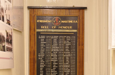 Thornbury & District Museum: 6th Maritime Regiment Memorial