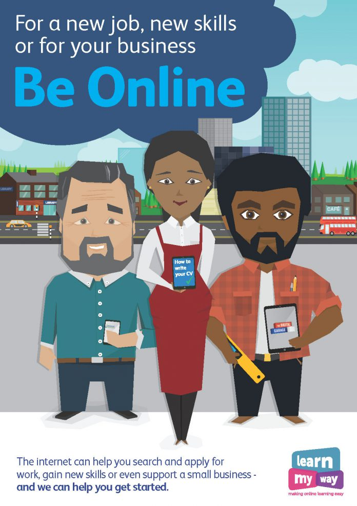 Be Online 2017 poster (27 February-12 March 2017)