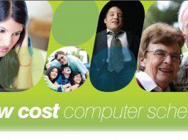 Low cost computer scheme