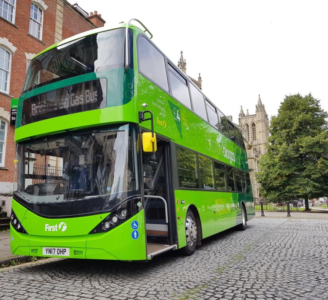 low emission bus