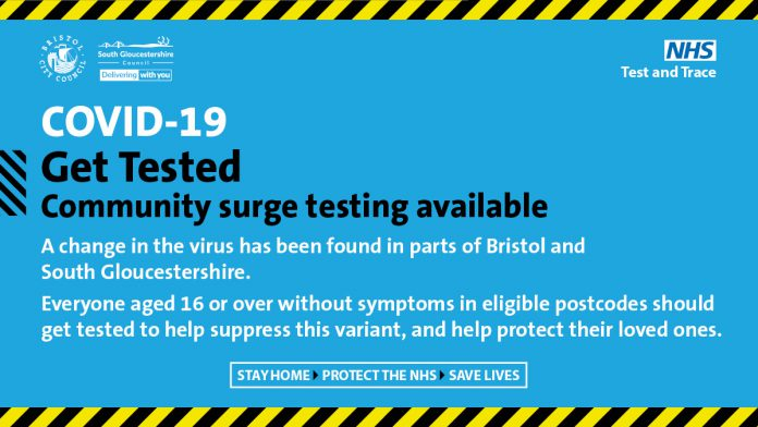 Covid-19: Get tested community surge testing available