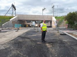 Cllr Reade on Gipsy Patch Lane August 2021
