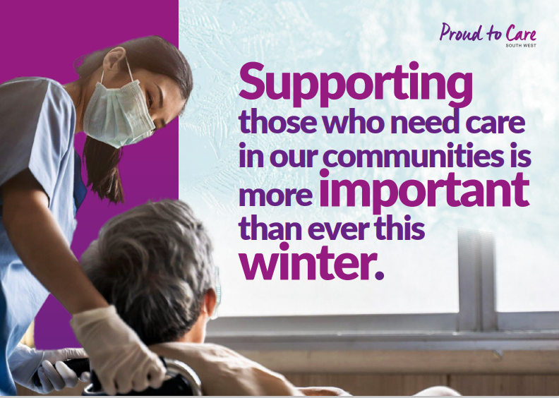 Proud to care - winter campaign