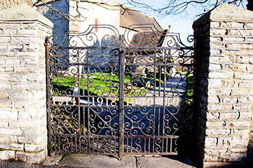 Pucklechurch - Memorial Gates
