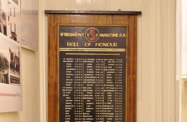 Thornbury & District Museum: 6th Maritime Regiment Memorial